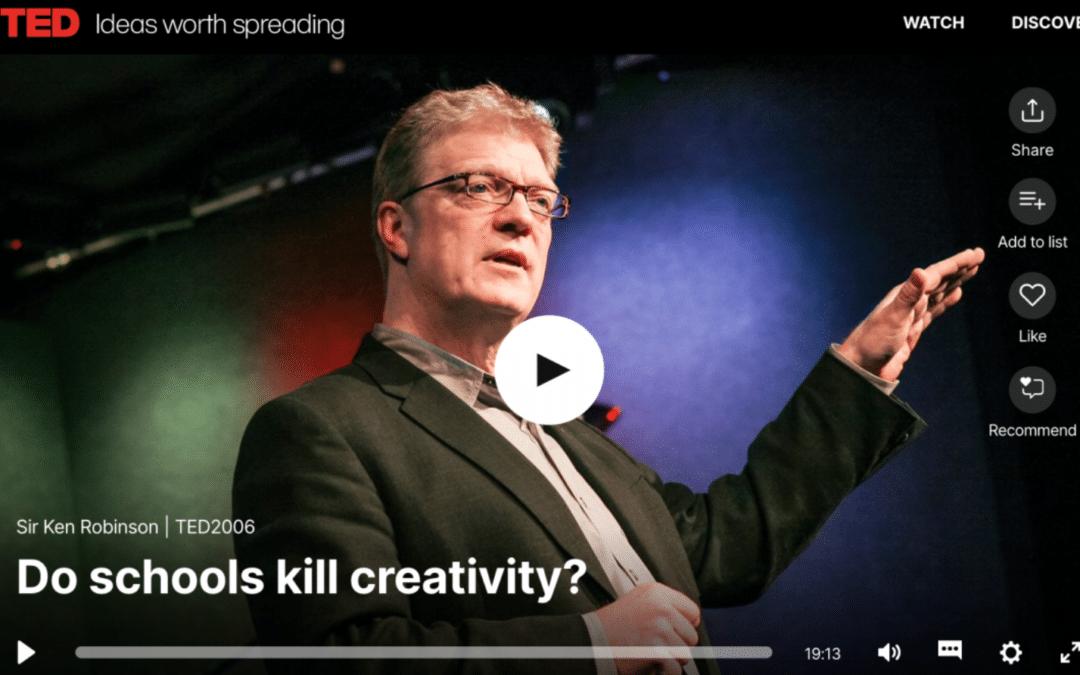 Sir Ken Robinson, sadly missed
