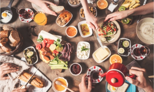 Mood boosting menu ideas